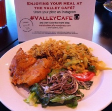 """""""Really cool meal from Myanmar today at the #ValleyCafe! #worldly #Marist"""" (@ce_lawl)"""