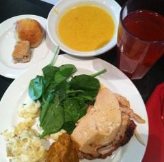 """""""International Thanksgiving #valleycafe"""" (@irisgrech)"""